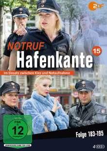Notruf Hafenkante Vol. 15 (Folge 183-195), 4 DVDs
