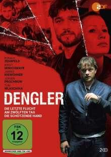 Dengler: Die letzte Flucht / Am zwölften Tag / Die schützende Hand, 2 DVDs
