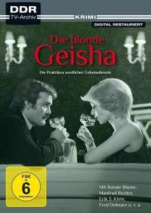 Die blonde Geisha, DVD
