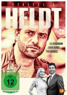 Heldt Staffel 5, 4 DVDs