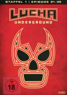 Lucha Underground Staffel 1 Box 2, 5 DVDs