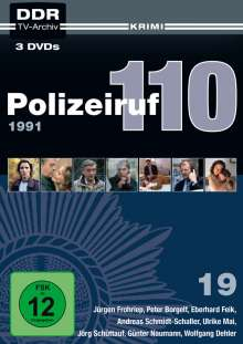 Polizeiruf 110 Box 19, 3 DVDs