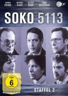 SOKO 5113 Staffel 2, DVD