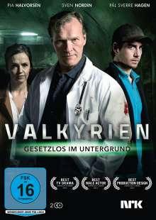 Valkyrien - Gesetzlos im Untergrund, 2 DVDs