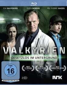Valkyrien - Gesetzlos im Untergrund (Blu-ray), 2 Blu-ray Discs