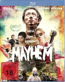 Mayhem (Blu-ray), Blu-ray Disc