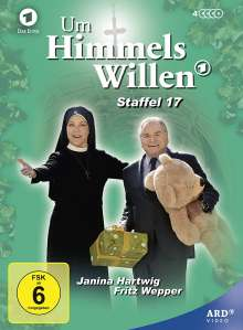Um Himmels Willen Staffel 17, 4 DVDs