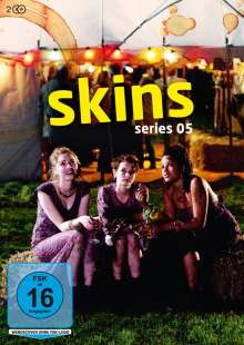 Skins Staffel 5, 2 DVDs