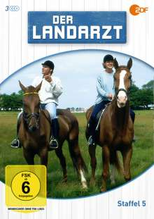 Der Landarzt Staffel 5, 3 DVDs