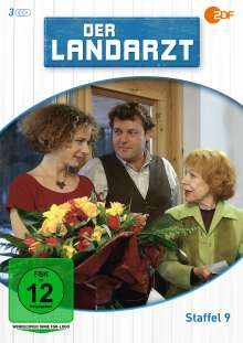 Der Landarzt Staffel 9, 3 DVDs