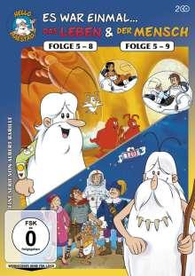 Es war einmal...das Leben (Folge 5-8) / ...der Mensch (Folge 5-9), 2 DVDs