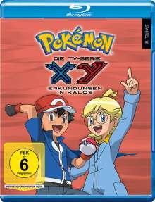 Pokemon Staffel 18: XY - Erkundungen in Kalos (Blu-ray), 5 Blu-ray Discs