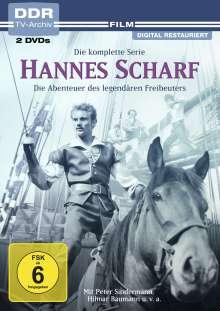 Hannes Scharf (Komplette Serie), 2 DVDs