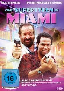 Zwei Supertypen in Miami (Alle 6 Originalfilme), 3 DVDs