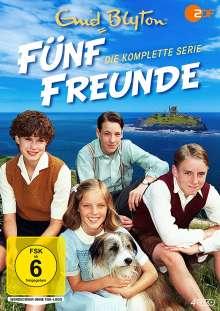 Fünf Freunde (Komplette Serie), 4 DVDs