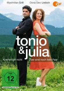 Tonio & Julia: Kneifen gilt nicht / Zwei sind noch kein Paar, DVD