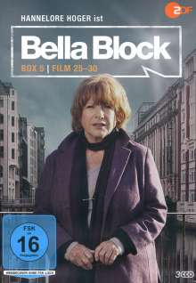 Bella Block Box 5 (Fall 25-30), 3 DVDs