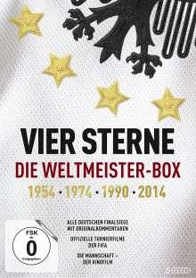 Vier Sterne: Die Weltmeister-Box - 1954/1974/1990/2014, 5 DVDs