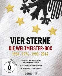 Vier Sterne: Die Weltmeister-Box - 1954/1974/1990/2014 (Blu-ray), 5 Blu-ray Discs