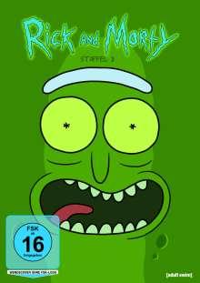 Rick and Morty Staffel 3, DVD