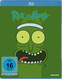 Rick and Morty Staffel 3 (Blu-ray), Blu-ray Disc