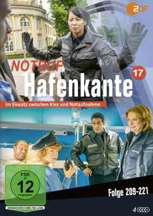 Notruf Hafenkante Vol. 17 (Folge 209-221), 4 DVDs