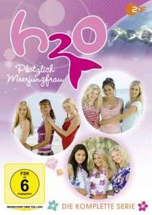 H2O - Plötzlich Meerjungfrau (Komplette Serie), 12 DVDs