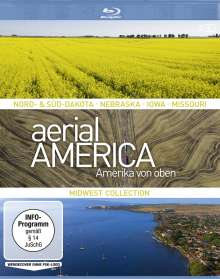 Aerial America - Amerika von oben: Midwest Collection (Blu-ray), 2 Blu-ray Discs