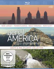 Aerial America - Amerika von oben: South and Mid-Atlantic Collection (Blu-ray), 2 Blu-ray Discs
