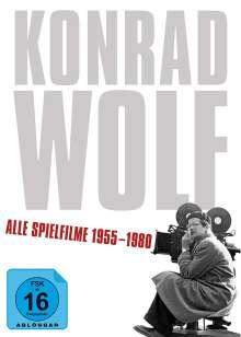 Konrad Wolf - Alle Spielfilme 1955-1980, 14 DVDs