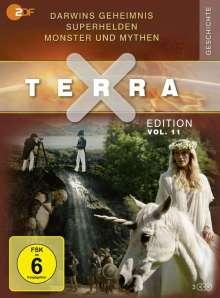 Terra X Vol. 11: Darwins Geheimnis / Superhelden / Monster und Mythen, 3 DVDs