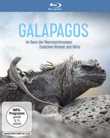 Galapagos: Im Bann der Meeresströmungen / Zwischen Himmel und Hölle (Blu-ray), Blu-ray Disc