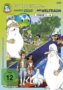 Es war einmal...unsere Erde / ...der Weltraum (Folge 1-4), 2 DVDs