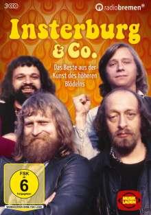 Insterburg & Co. - Das Beste aus der Kunst des höheren Blödelns, 3 DVDs