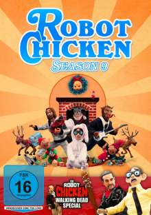 Robot Chicken Season 9, DVD
