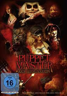 Puppet Master: Axis Termination, DVD