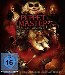 Puppet Master: Axis Termination (Blu-ray), Blu-ray Disc