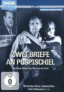 Zwei Briefe an Pospischiel, DVD