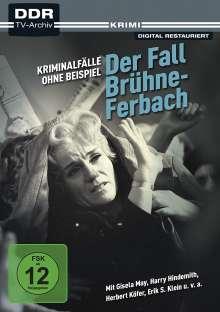 Kriminalfälle ohne Beispiel: Der Fall Brühne-Ferbach, DVD