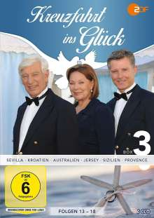 Kreuzfahrt ins Glück Box 3, 3 DVDs