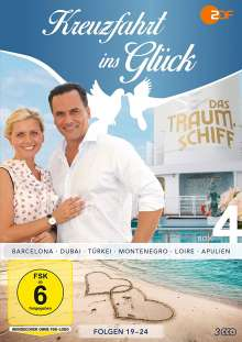 Kreuzfahrt ins Glück Box 4, 3 DVDs