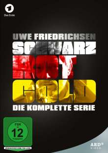 Schwarz Rot Gold (Komplette Serie), 9 DVDs