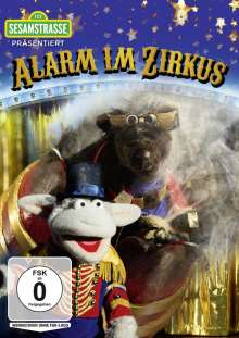 Sesamstrasse präsentiert: Alarm im Zirkus, DVD