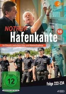 Notruf Hafenkante Vol. 18 (Folge 222-234), 4 DVDs