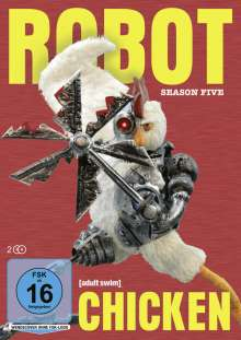 Robot Chicken Staffel 5, 2 DVDs