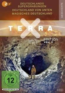 Terra X Vol. 4: Deutschlands Supergrabungen / Deutschland von unten / Magisches Deutschland, 3 DVDs