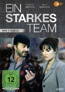 Ein starkes Team Box 1 (Film 1-8), 4 DVDs