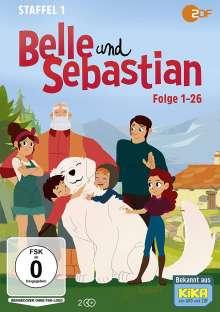 Belle und Sebastian Staffel 1 (Folge 01-26), 2 DVDs