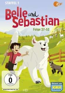 Belle und Sebastian Staffel 1 (Folge 27-52), 2 DVDs
