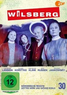 Wilsberg DVD 30: Mörderische Rendite / Gottes Werk und Satans Kohle, DVD